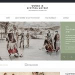 Redesign of Women in Scottish History (WISH) website