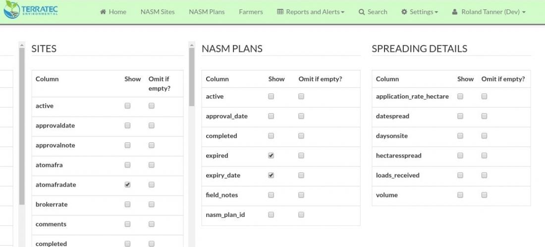 Terratec NASM Database